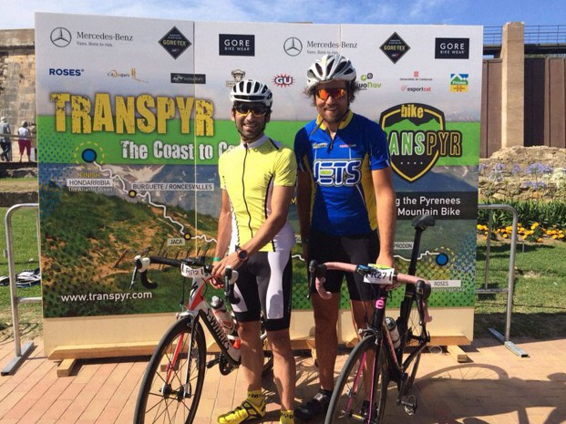 David Ribas gana la segunda edición de la Transpyr Road 2014